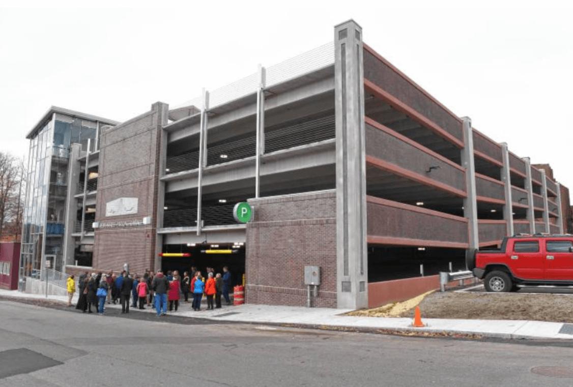Parking Garage in Greenfield, MA