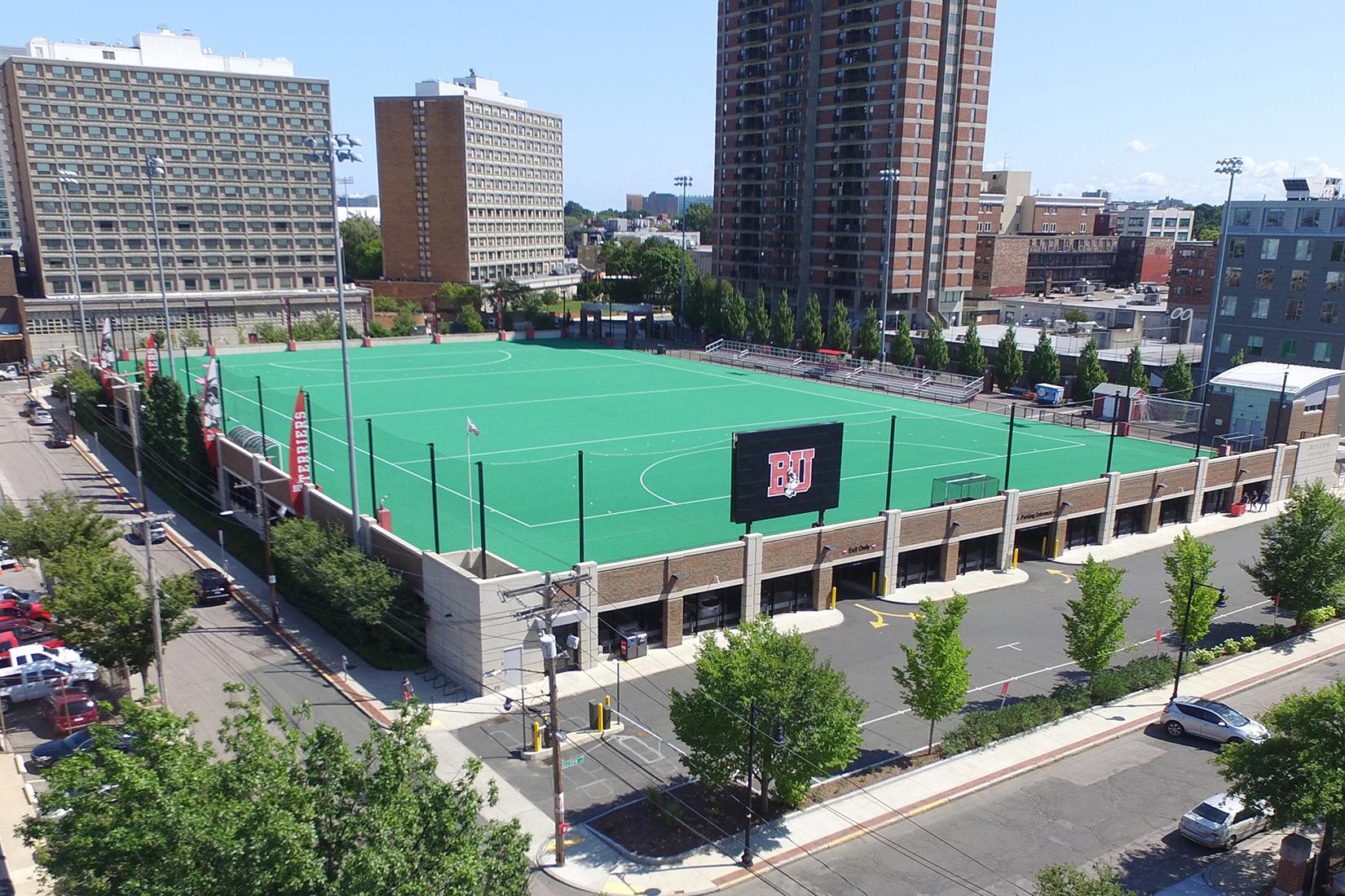 """Boston University """"New Balance"""" Parking Garage, Boston, MA"""